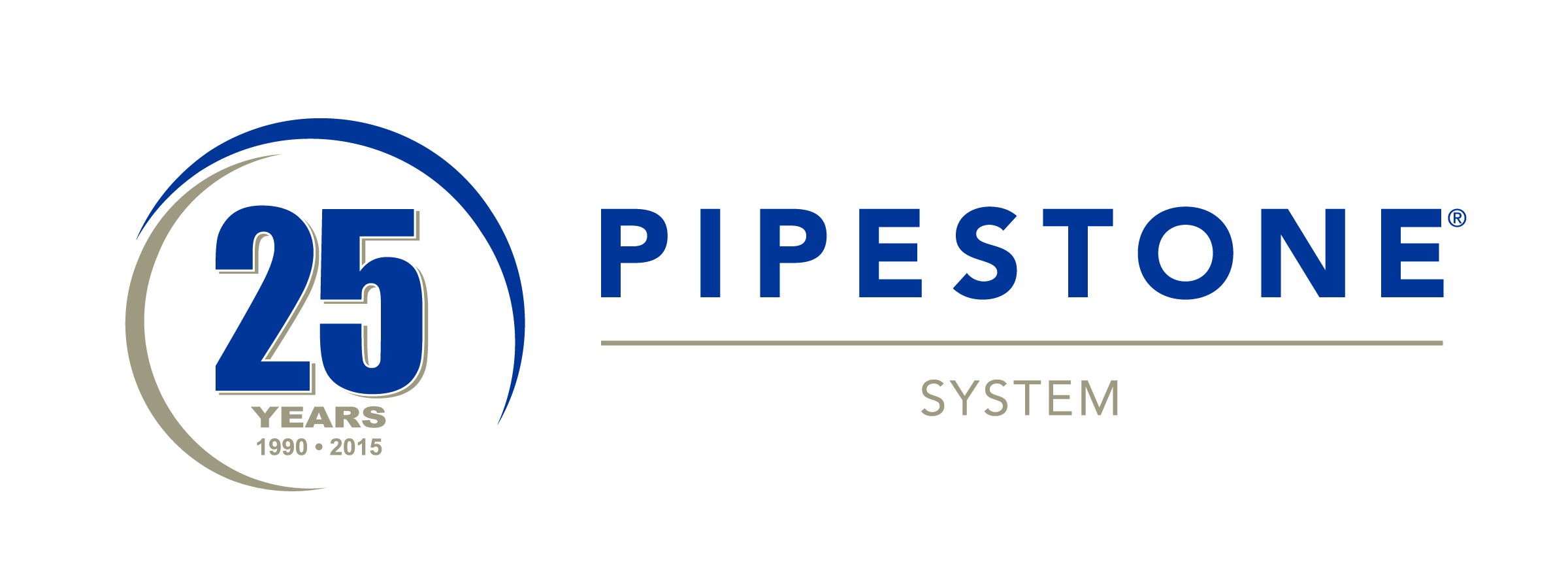 Pipestone 25th Logo Final Without Tagline Long